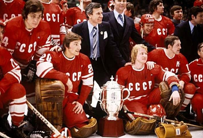 фото сборная ссср по хоккею